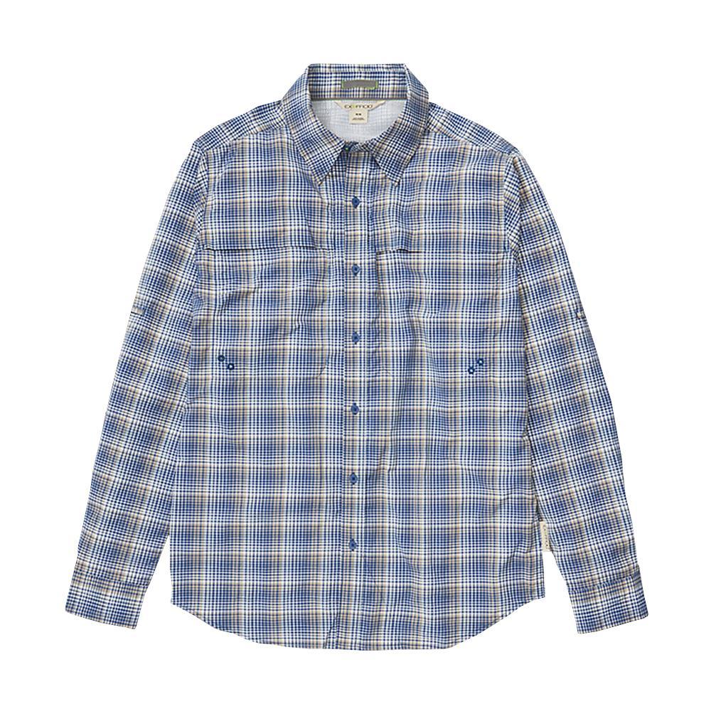 ExOfficio Men's Tellico Long Sleeve Shirt BLUE_5017