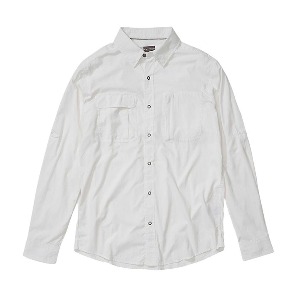 ExOfficio Men's BugsAway Halo Long Sleeve Shirt WHITE_1000