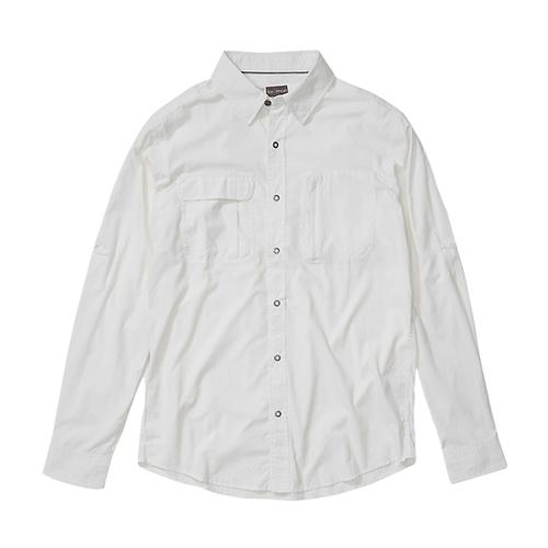 ExOfficio Men's BugsAway Halo Long Sleeve Shirt White_1000