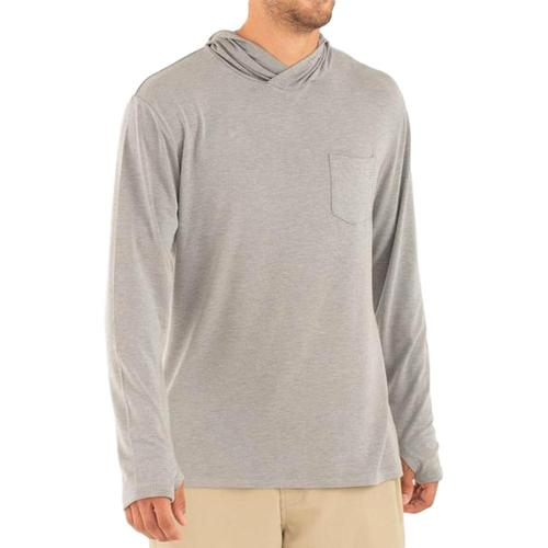 Free Fly Men's Crossover Hoody Greyhthr_107