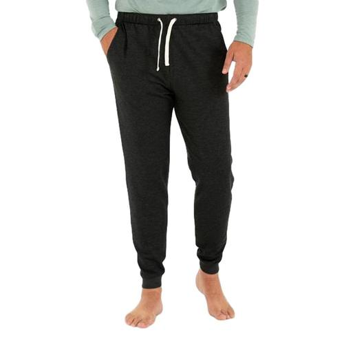 Free Fly Men's Bamboo Fleece Joggers Blkhthr_101