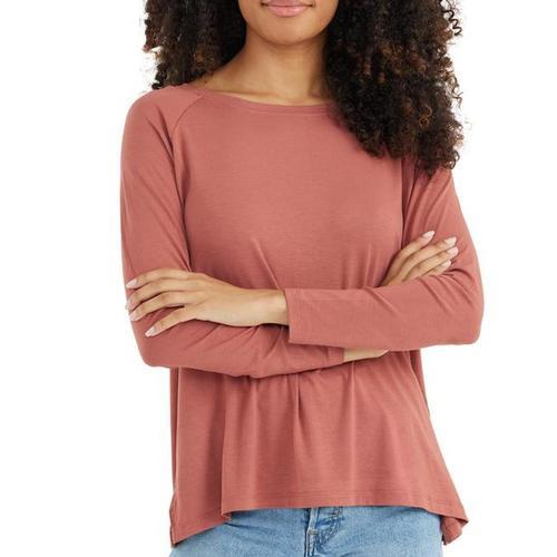 Free Fly Women's Bamboo Everyday Flex Long Sleeve Shirt Rosewo_106