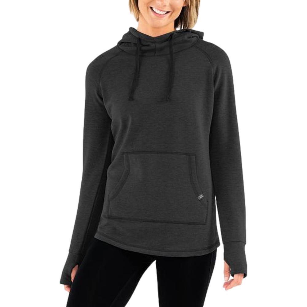 Free Fly Women's Bamboo Fleece Pullover Hoody BLACKH_106
