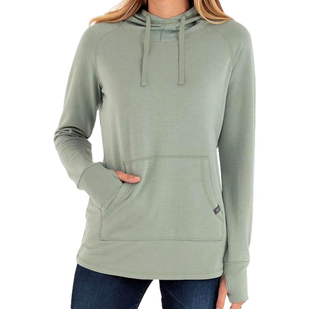 Free Fly Women's Bamboo Fleece Pullover Hoody GRASS_112