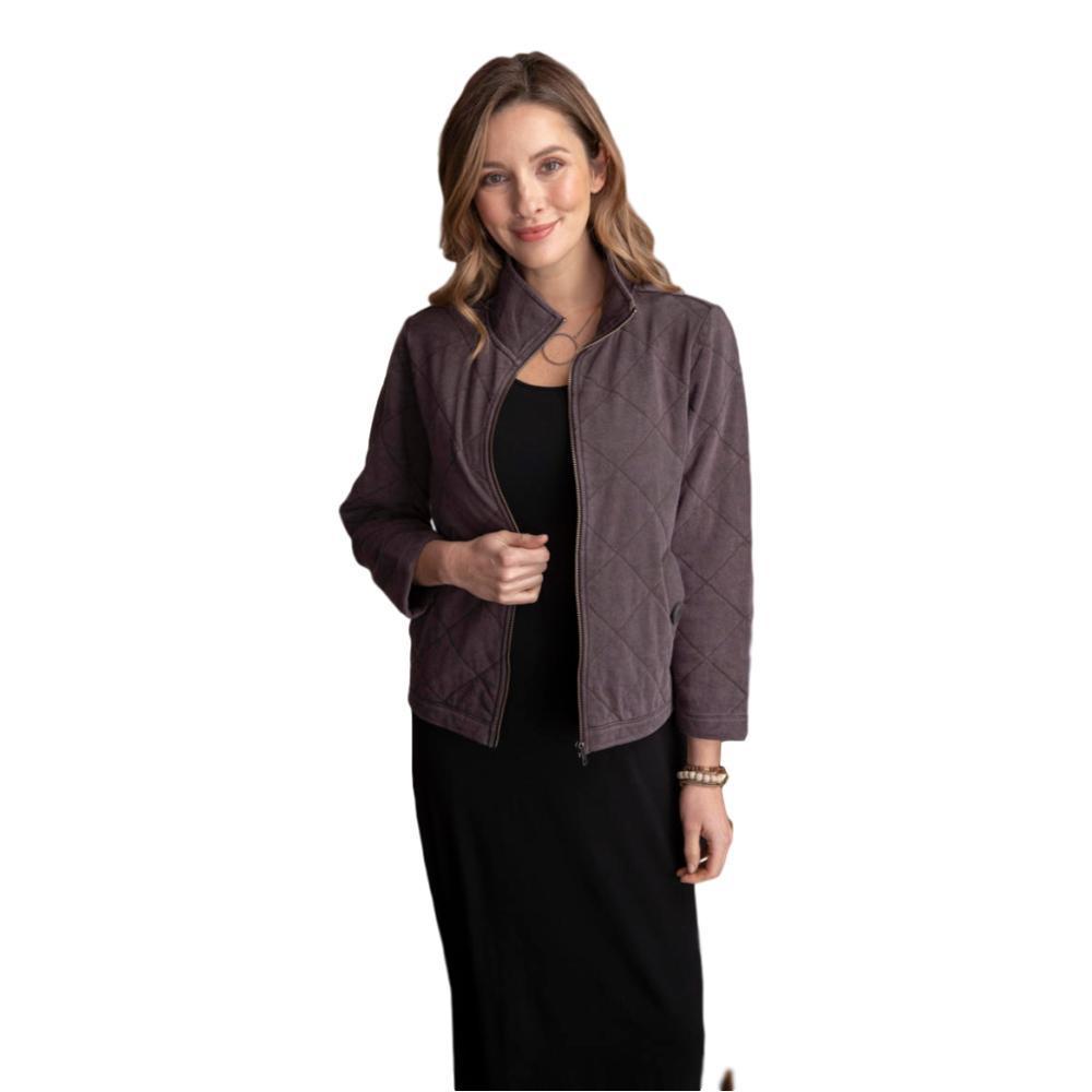 Habitat Women's Stand Collar Jacket CHARCOAL