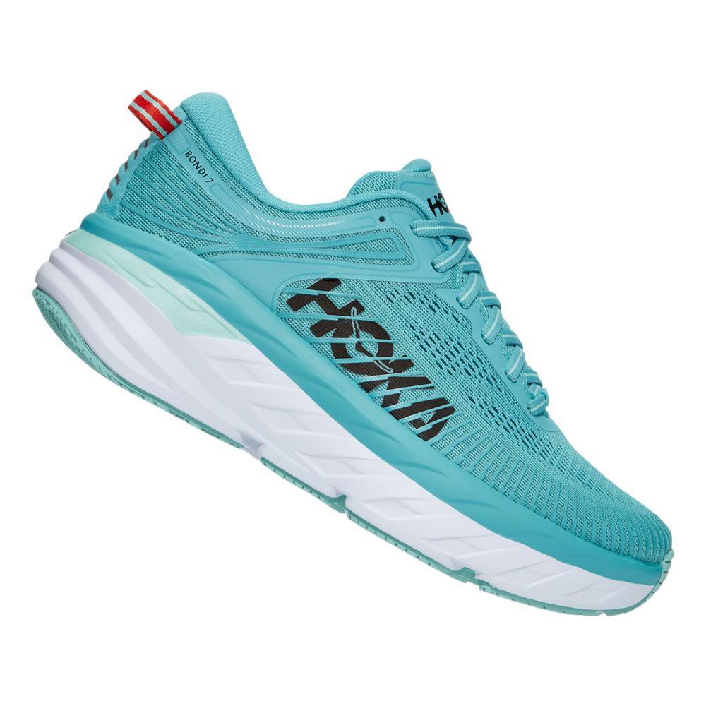HOKA ONE ONE Women's Bondi 7 Running Shoes AQUAR.EBLU_AEBL