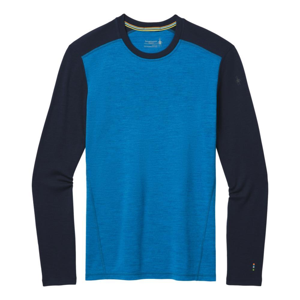 Smartwool Men's Merino 250 Base Layer Crew BLUENA_E64