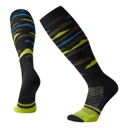Smartwool Unisex PhD Ski Light Elite Pattern Socks Black_001