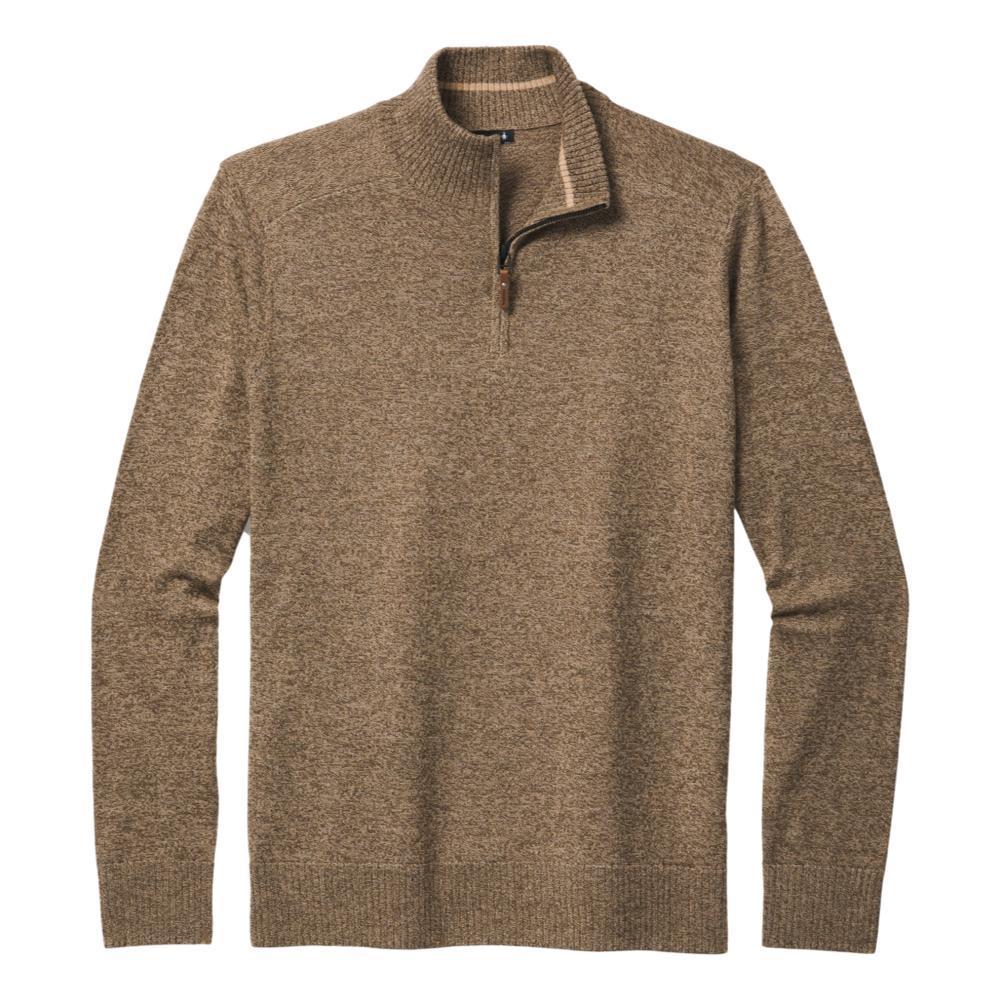 Smartwool Men's Sparwood Half Zip Sweater CAMEL