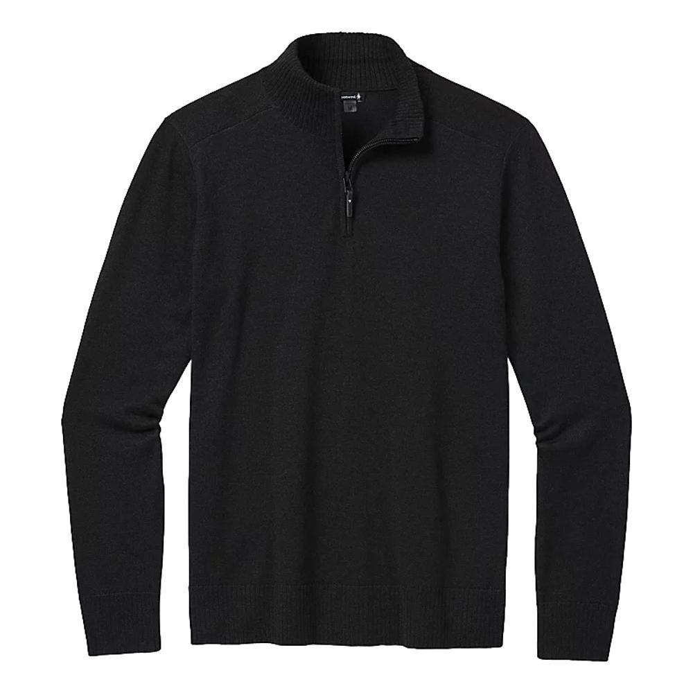 Smartwool Men's Sparwood Half Zip Sweater CHARCOAL