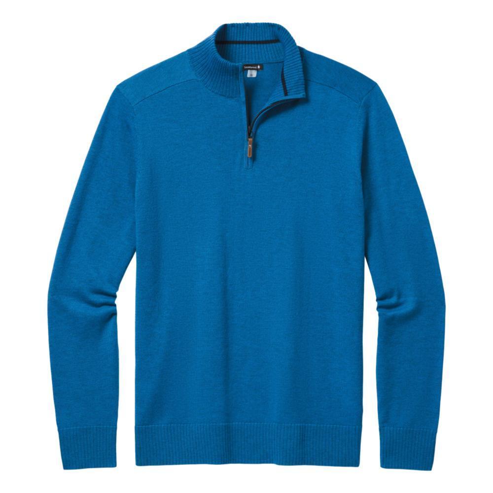 Smartwool Men's Sparwood Half Zip Sweater NEPTUNE