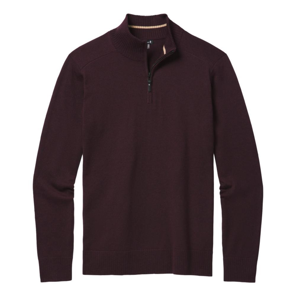 Smartwool Men's Sparwood Half Zip Sweater WOODSMOKE