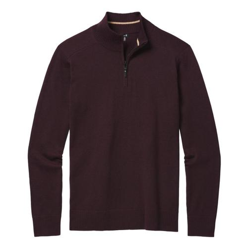 Smartwool Men's Sparwood Half Zip Sweater Woodsmoke