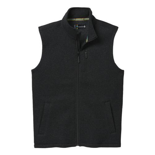 Smartwool Men's Anchor Line Vest Charcoalhtr