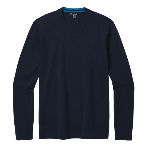 Smartwool Men's Sparwood V-Neck Sweater Deepnavy