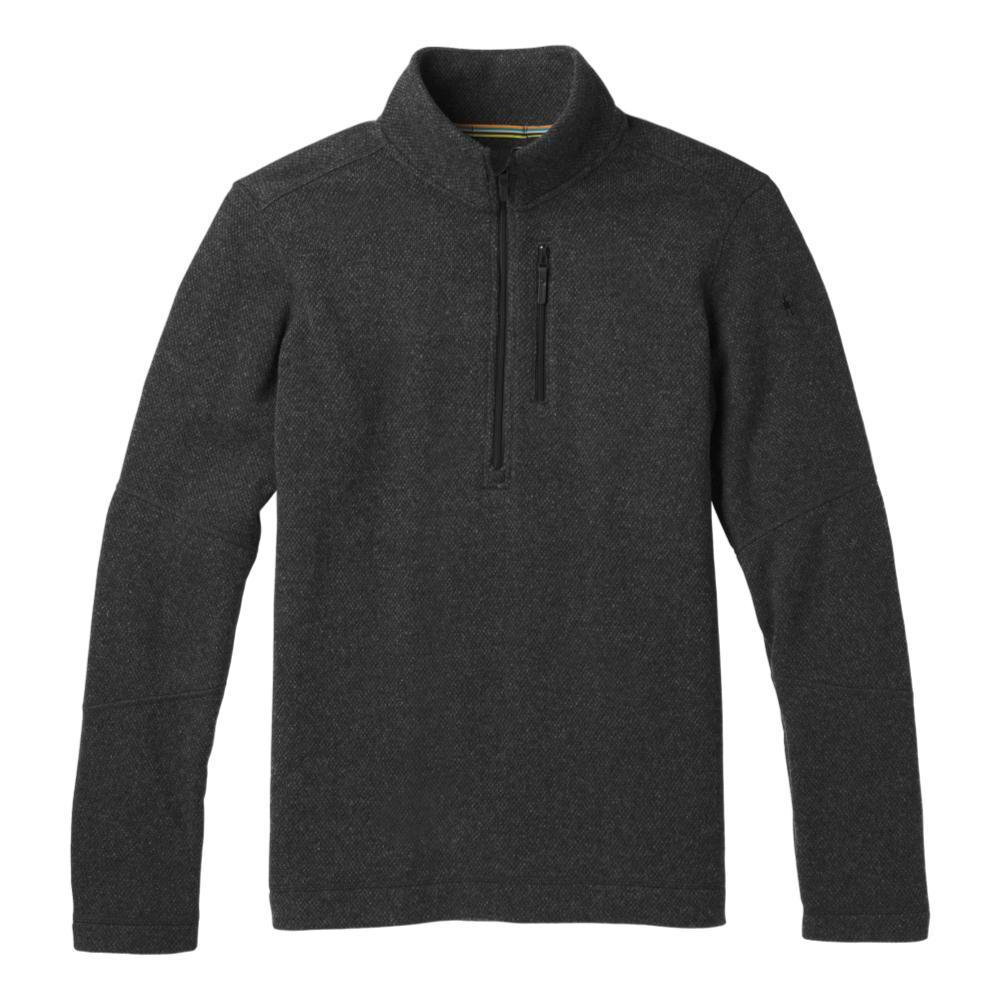 Smartwool Men's Hudson Trail Fleece Half Zip Sweater DKCHARCOAL