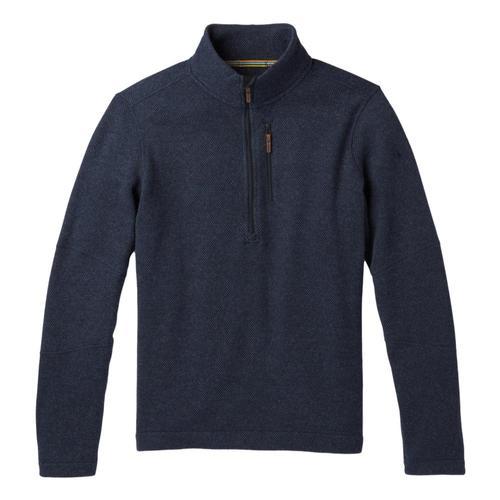 Smartwool Men's Hudson Trail Fleece Half Zip Sweater Navy