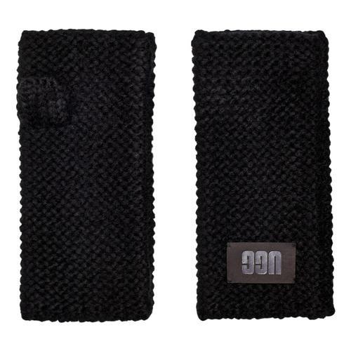 UGG Women's Fingerless Kinit Gloves Black_blk