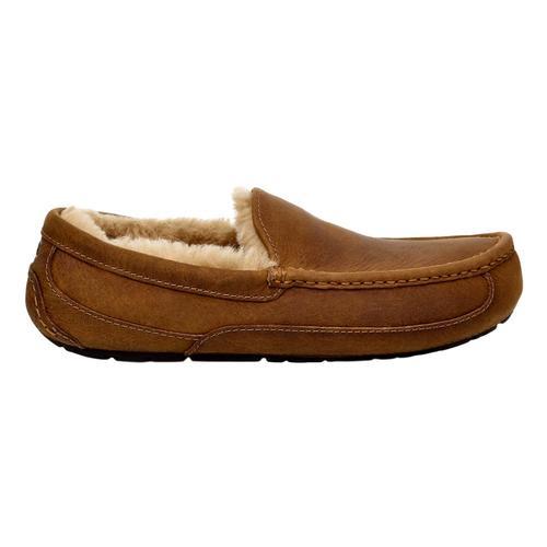 UGG Men's Ascot Leather Slippers Tan_tan
