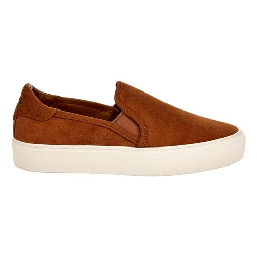 UGG Women's Jass Suede Slip-Ons Chestnt_che