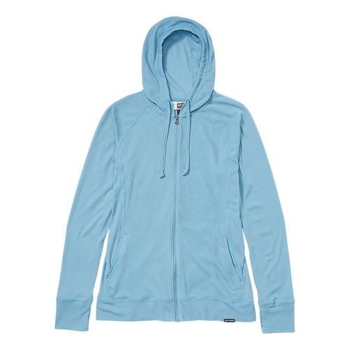 ExOfficio Women's BugsAway Lumen Full Zip Hoody Bluestar_5696