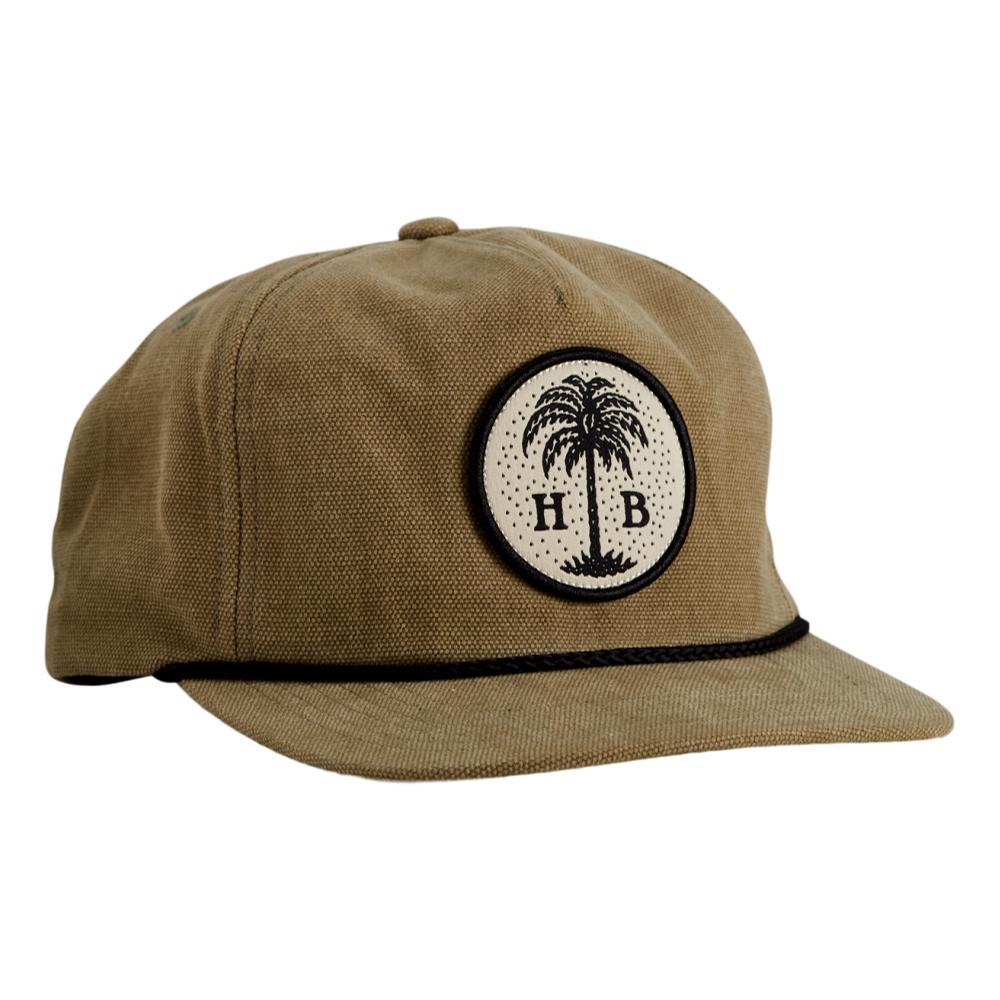 Howler Brothers HB Palmetto Snapback Hat TAUPE