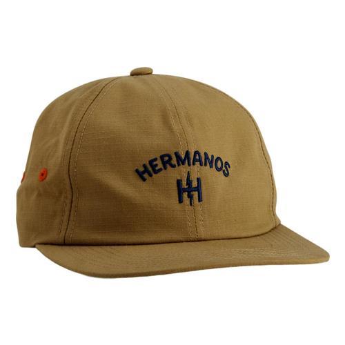 Howler Brothers Hermanos Strapback Hat Khaki