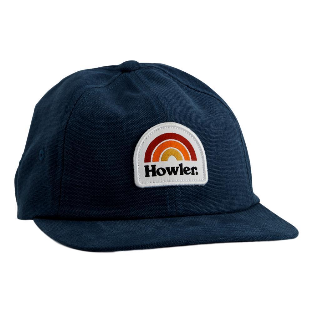 Howler Brothers Howler Rainbow Strapback Hat DEEPBLUE