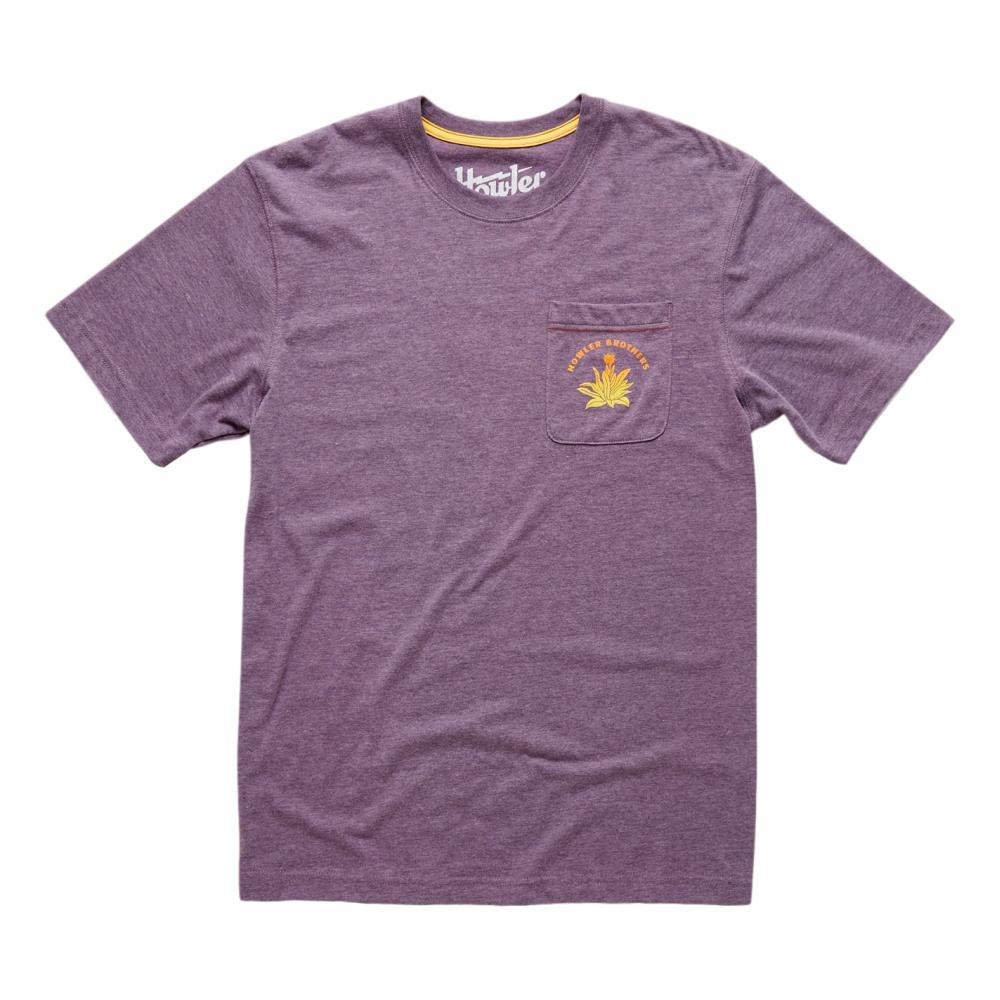 Howler Brothers Hill Country Sliders Pocket T Shirt SMOKYPURPL