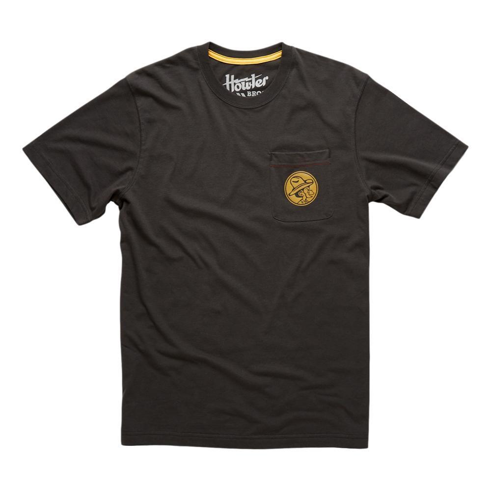 Howler Brothers El Monito Seal Pocket T-Shirt ANTIQBLACK