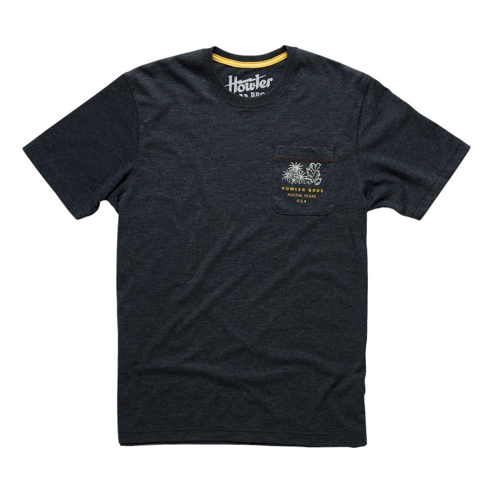 Howler Brothers Panhandle Country Pocket T-Shirt CHARCOAL