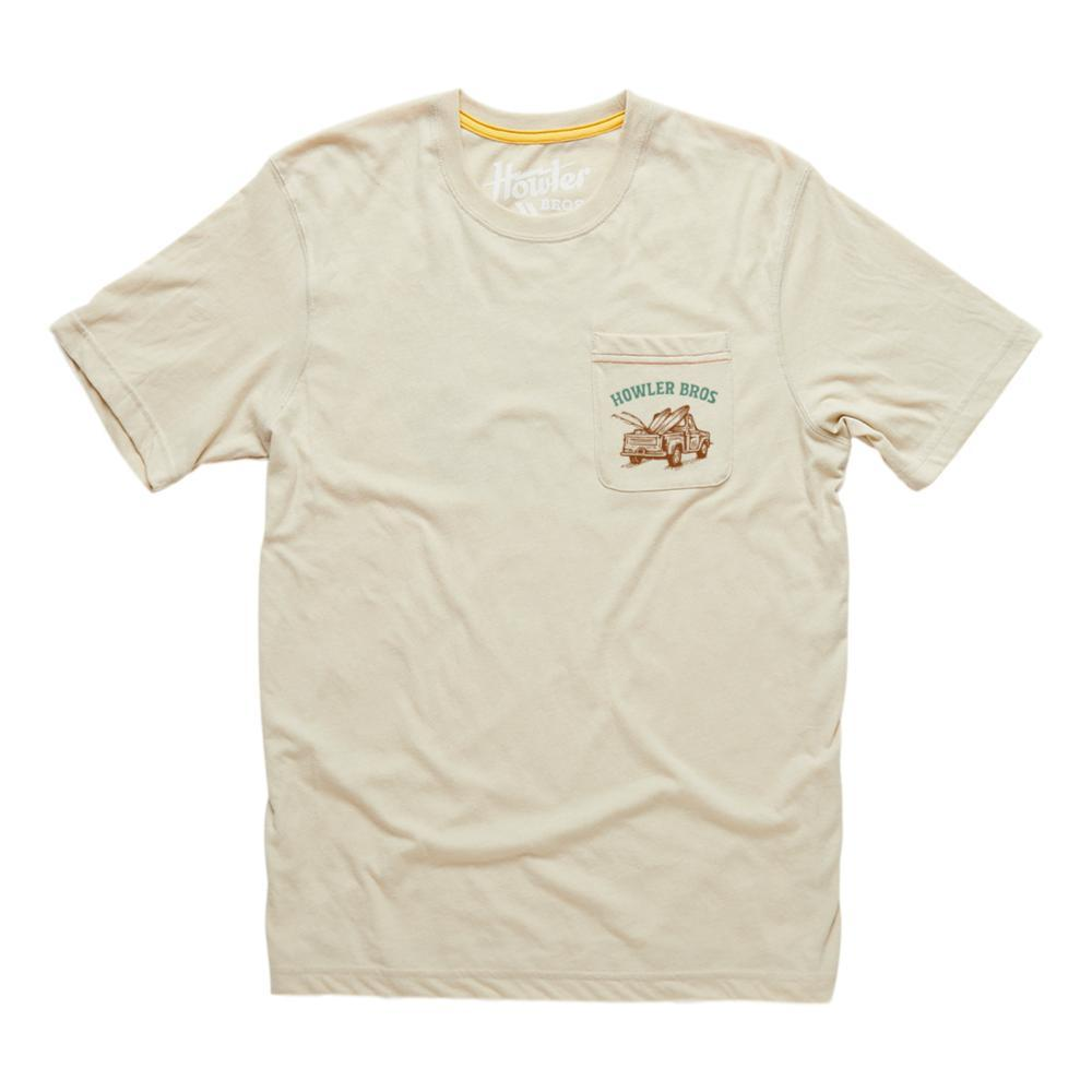 Howler Brothers Follow Me Pocket T-Shirt SAND