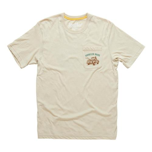 Howler Brothers Follow Me Pocket T-Shirt Sand