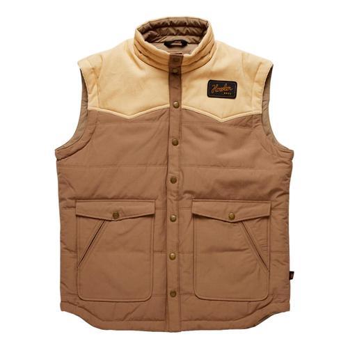 Howler Brothers Men's Rounder Vest Wheat_duw