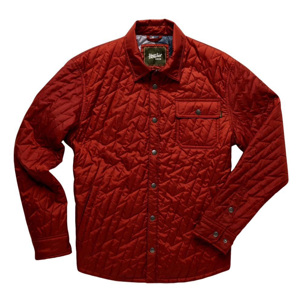 Howler Brothers Men's Lightning Quilted Jacket RED_TRR
