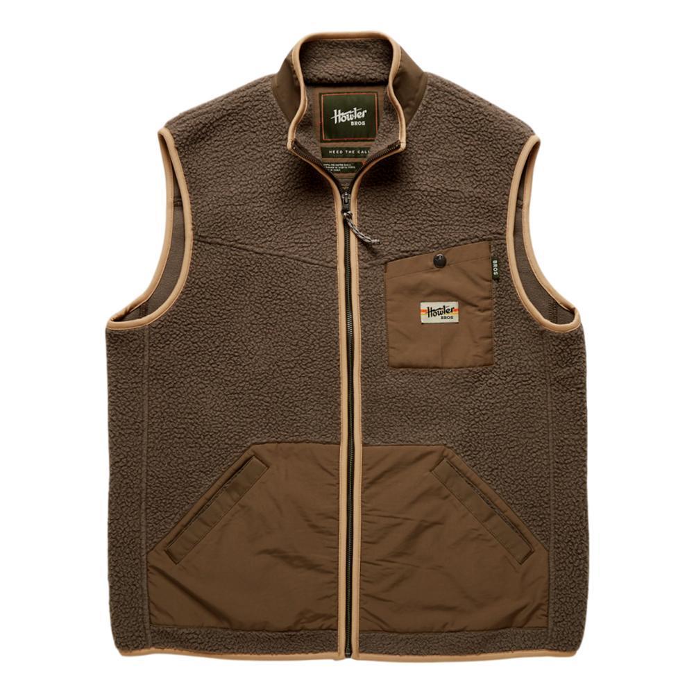 Howler Brothers Men's Chisos Fleece Vest BROWN_CYB