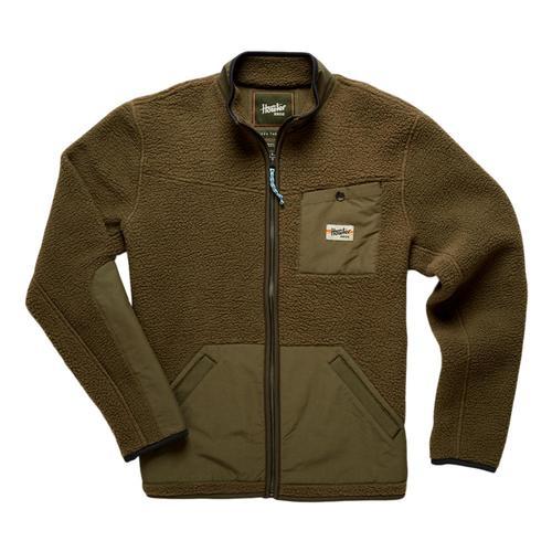Howler Brothers Chisos Fleece Jacket Green_bkg
