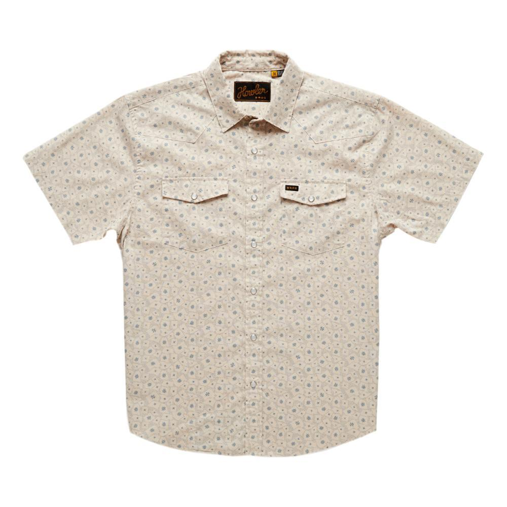 Howler Brothers Men's H Bar B Snapshirt WHITE_LAW