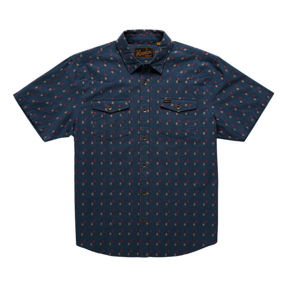 Howler Brothers Men's Sheridan Shortsleeve Shirt BLUE_DVB