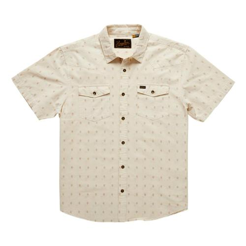 Howler Brothers Men's Sheridan Shortsleeve Shirt Powder_dvp