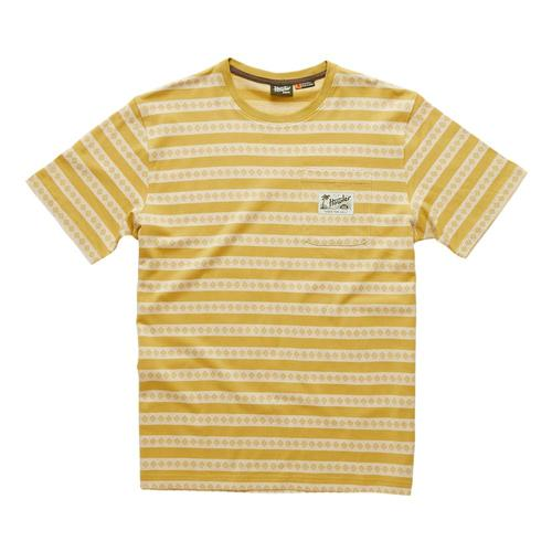 Howler Brothers Pictograph Jacquard T-shirt Gold_alg