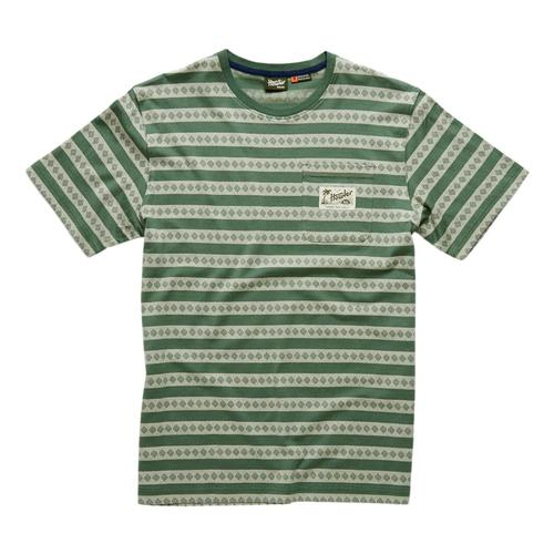 Howler Brothers Pictograph Jacquard T-shirt Green_pgr