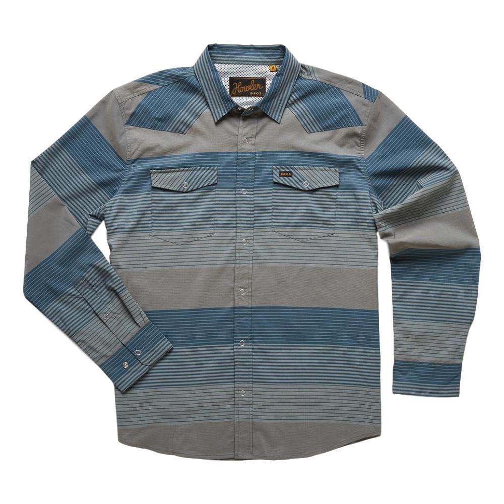 Howler Brothers Men's H Bar B Tech Longsleeve Shirt GREY_TSP