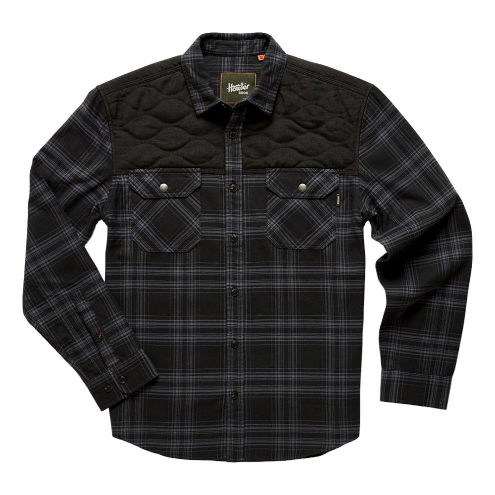 Howler Brothers Men's Quintana Quilted Flannel BLACK_APB