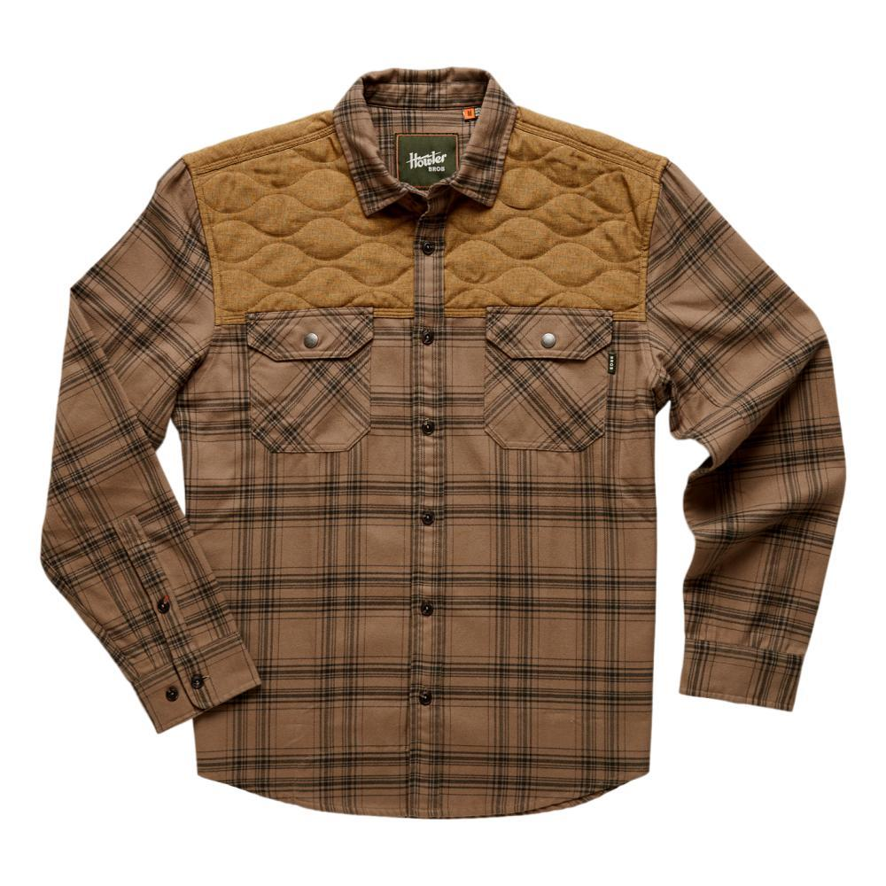 Howler Brothers Men's Quintana Quilted Flannel KHAKI_APT