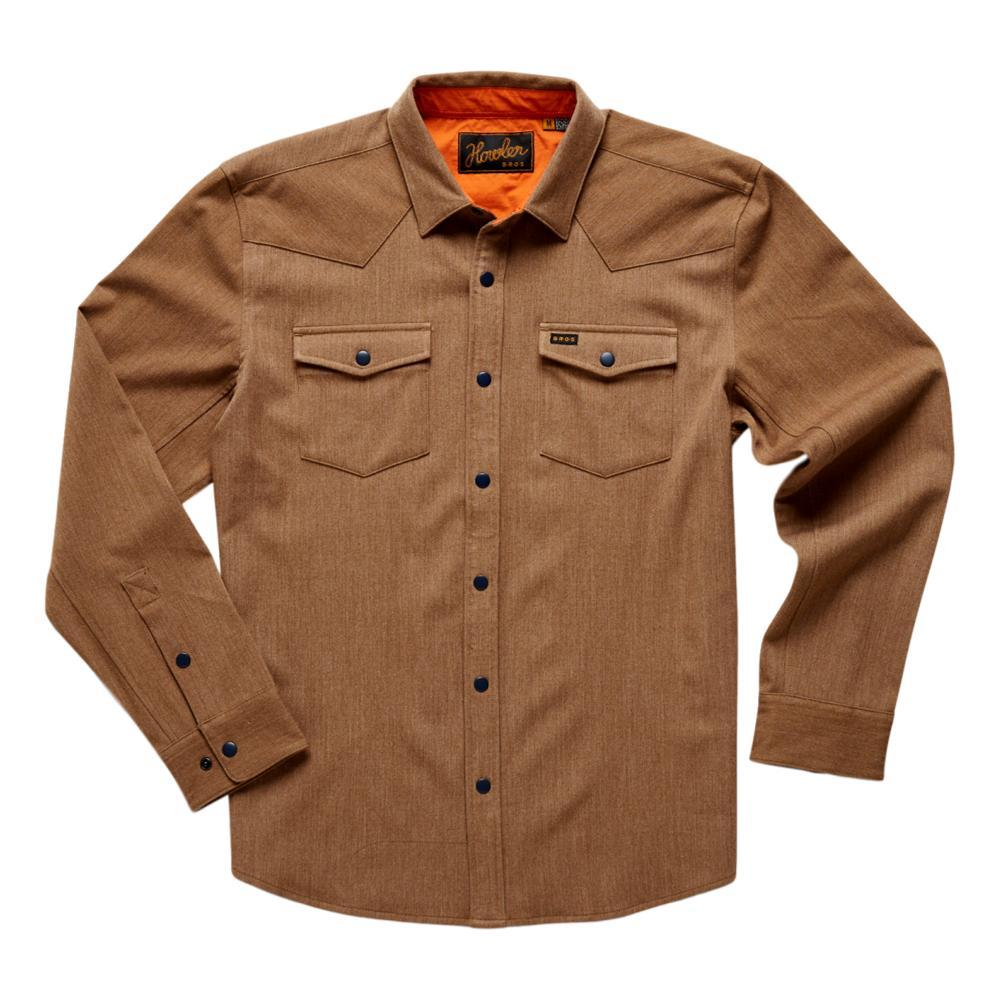 Howler Brothers Men's Stockman Stretch Snapshirt WOOD_TAN