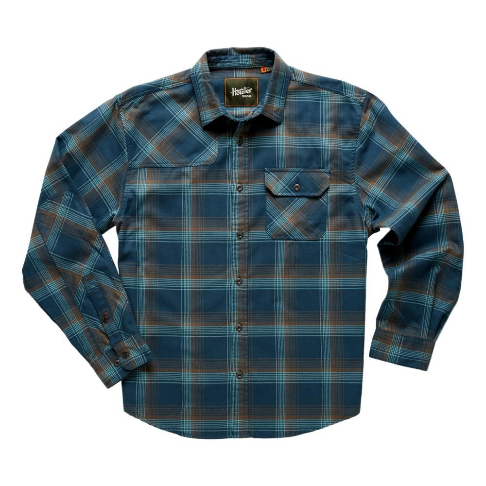 Howler Brothers Men's Harker's Flannel BLUE_RPB