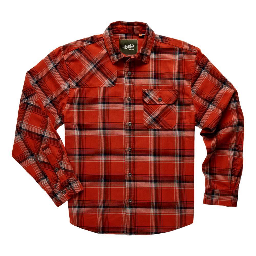 Howler Brothers Men's Harker's Flannel RED_RPF