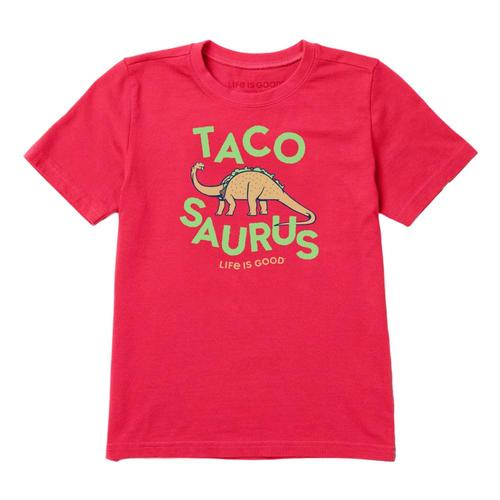 Life is Good Boys Tacosaurus Crusher Tee Pstvred