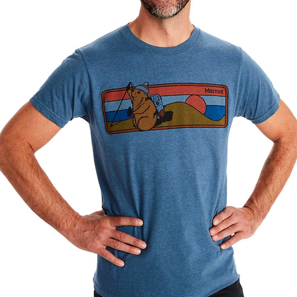 Marmot Men's Hiking Marty Short-Sleeve T-Shirt STARG_1981
